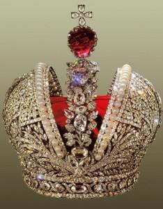 корона Екатерины 2 со Шпинелью