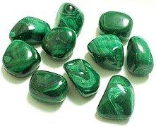 Малахит зеленого цвета