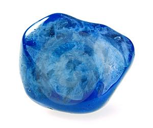 Синий агат