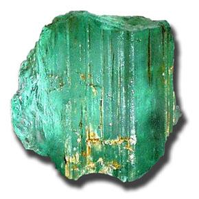 Натуральный минерал изумруд