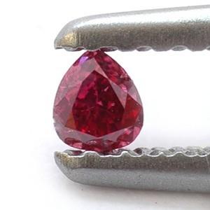 Редкий красный алмаз