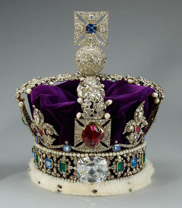 Куллинан в короне