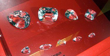Части алмаза Куллинан