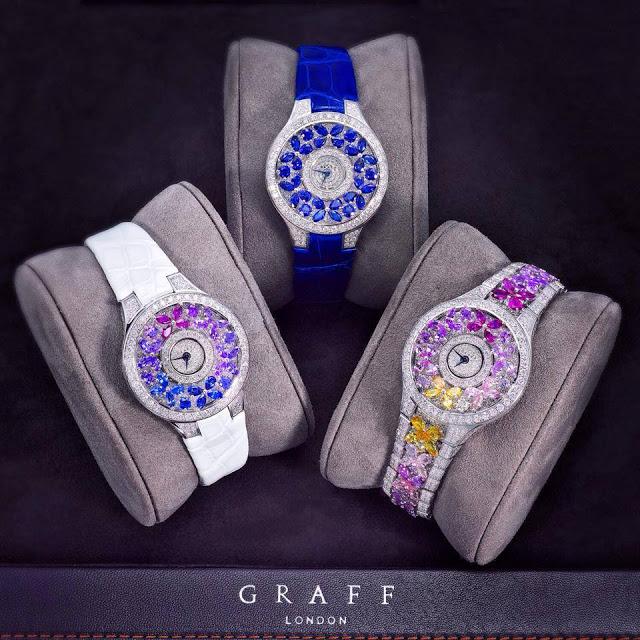 Бриллианты коллекции ювелирного Дома Graff