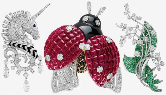 Ювелирные изделия от Van Cleef & Aprels